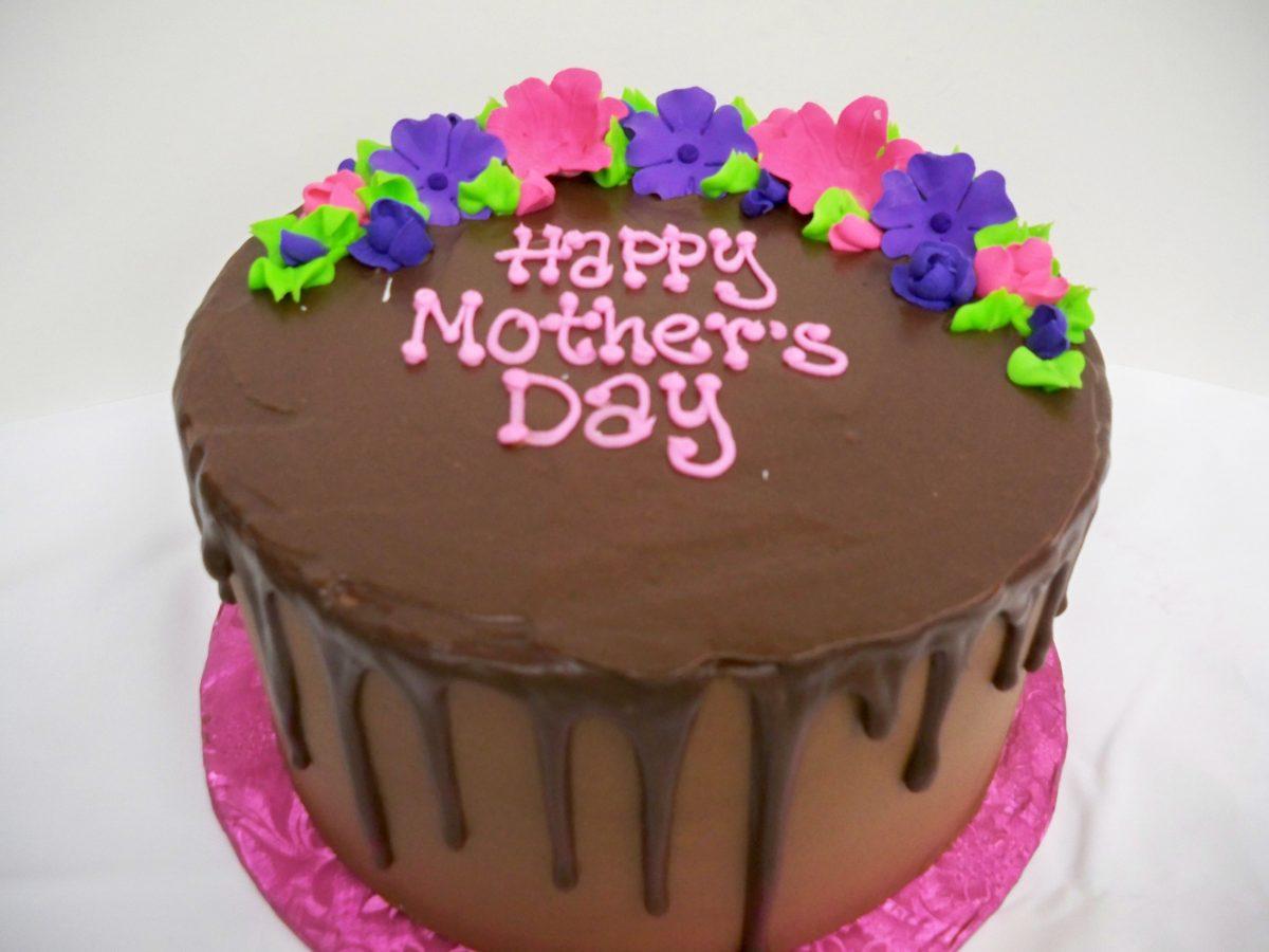 mother's day cake, chocolate drip cake, drip cake