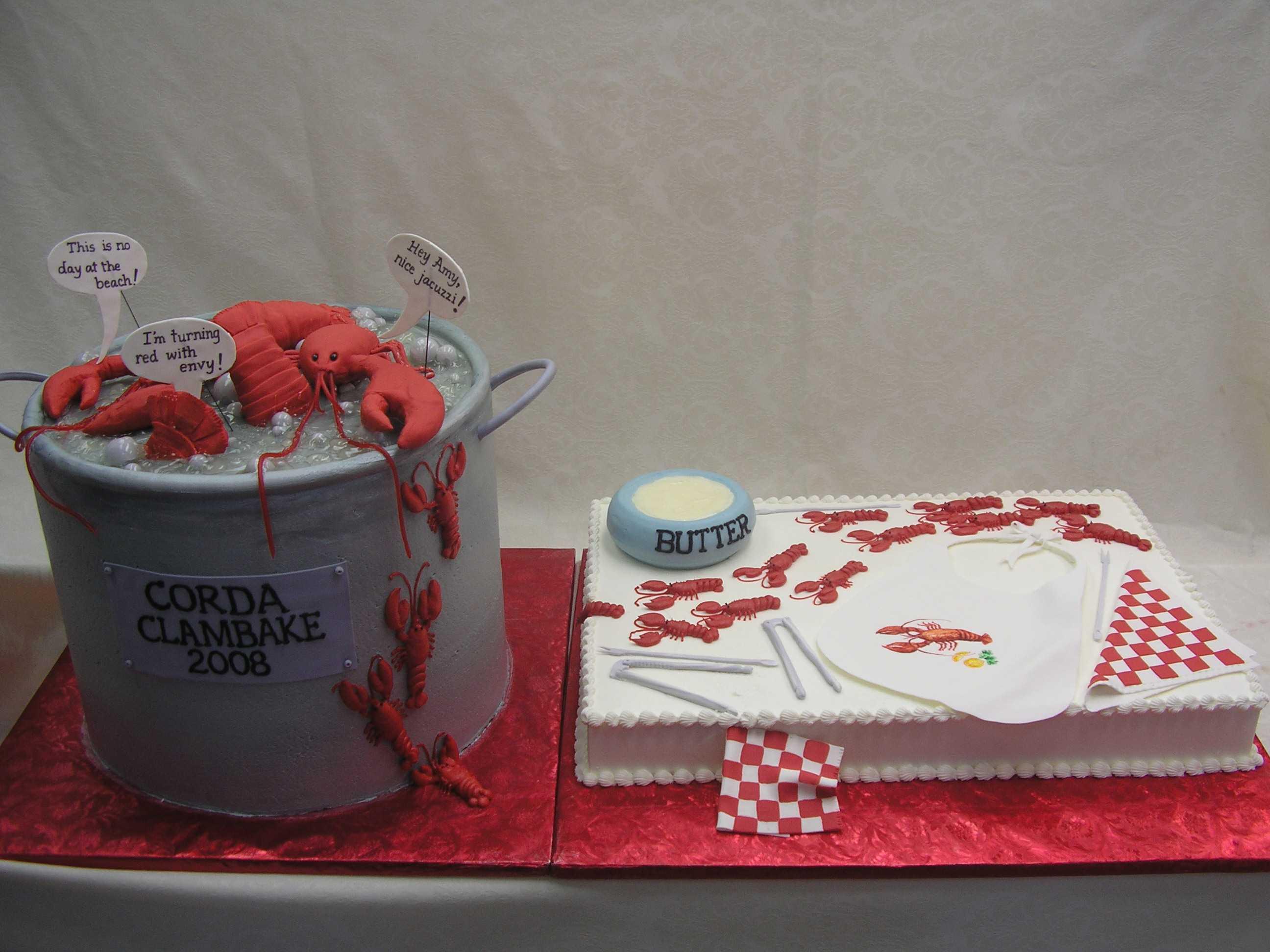 clambake cake