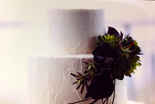 Wedding Cake, stucco