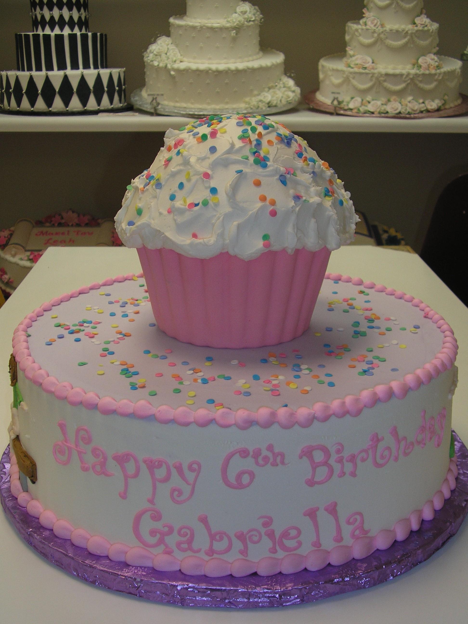 cupcake cake, birthday cupcake cake, 3d cupcake cake