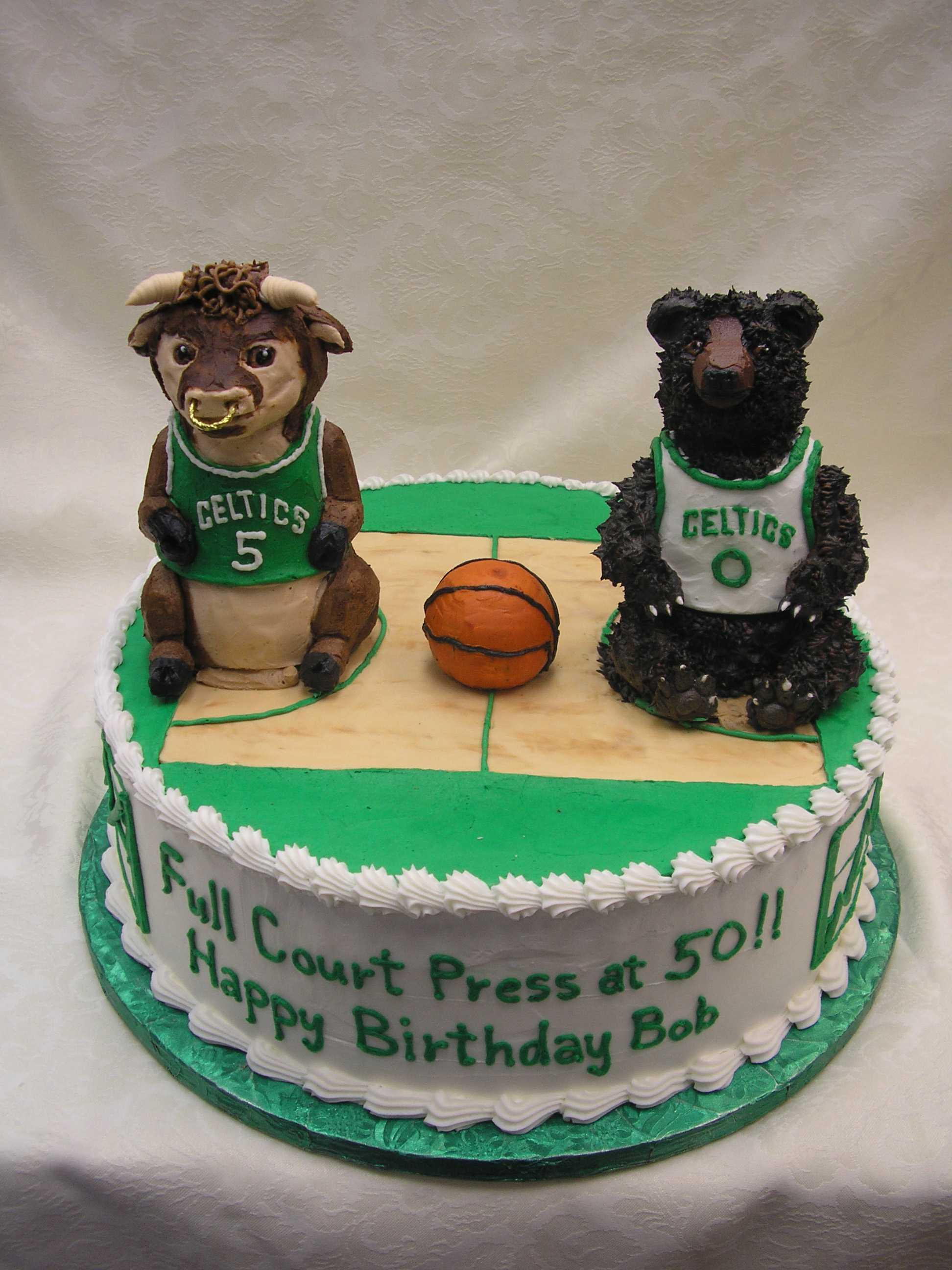 celtics cake