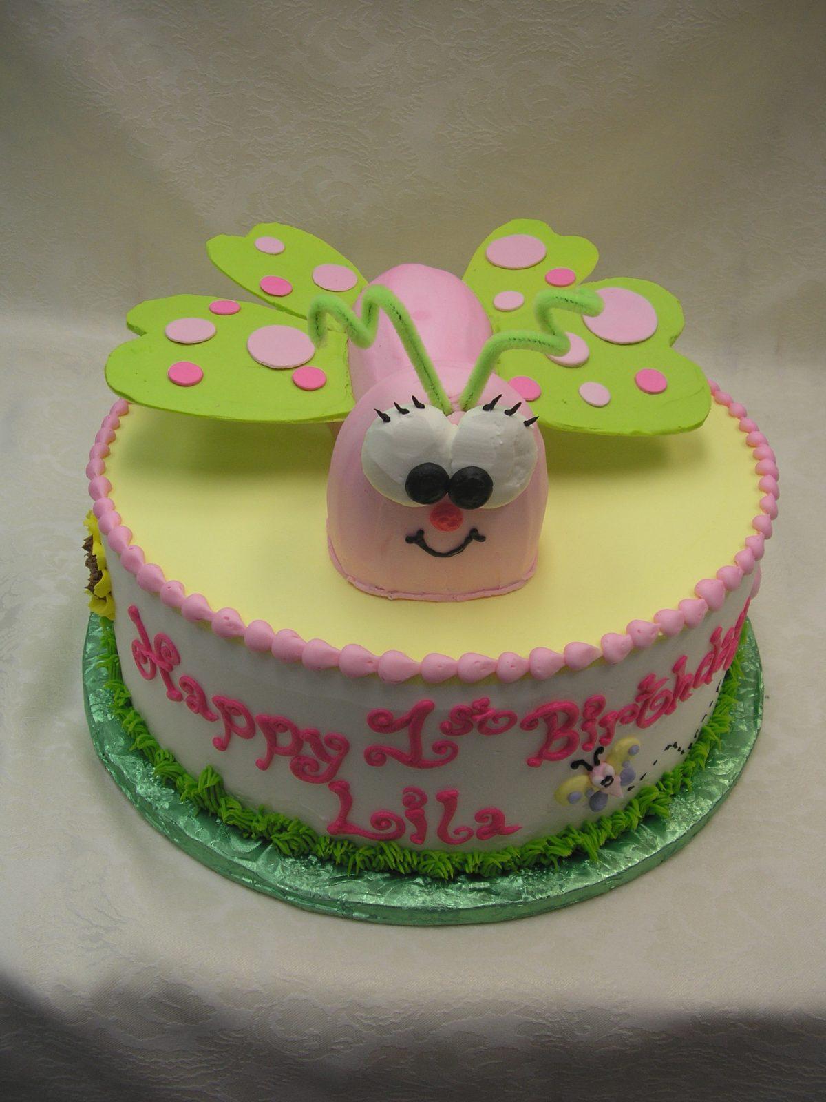 3D butterfly cake