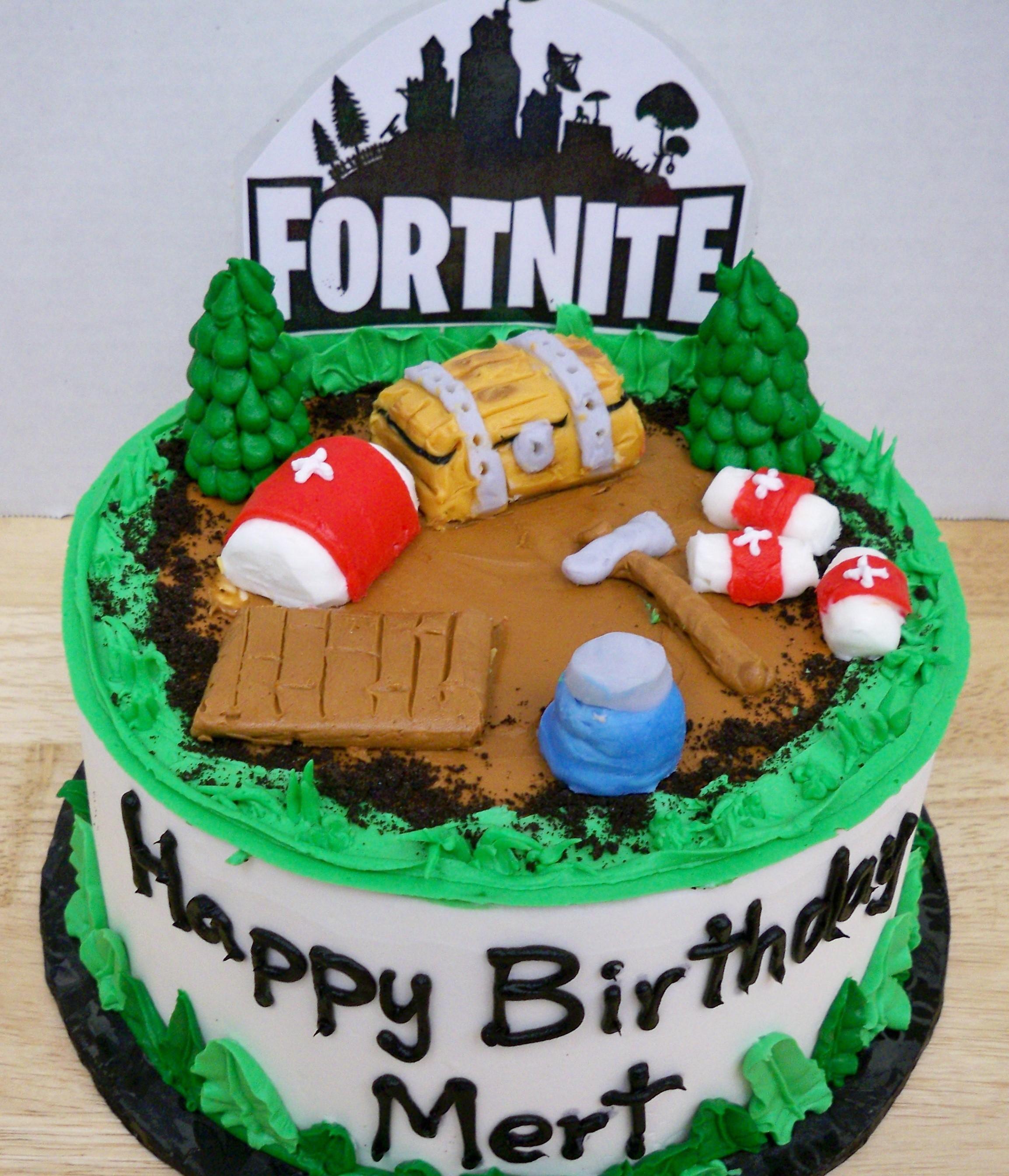 fortnite cake,