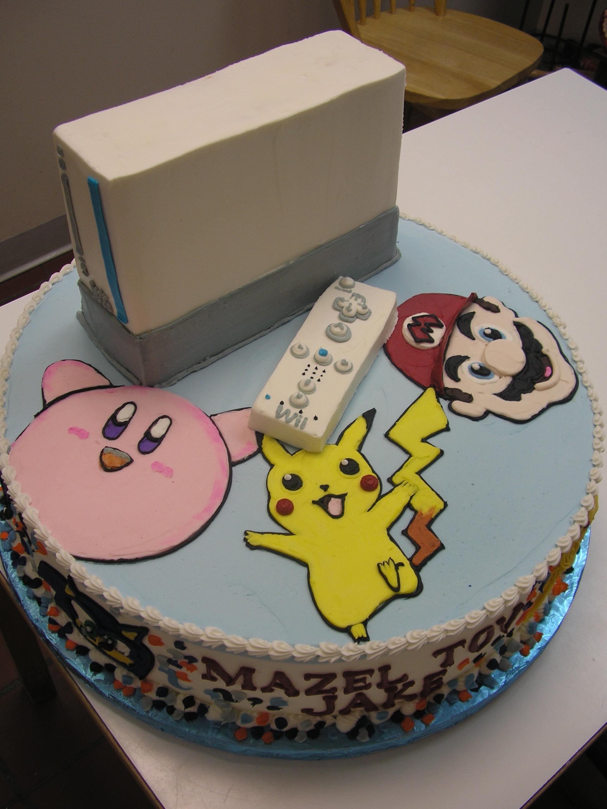 3D Nintendo Cake