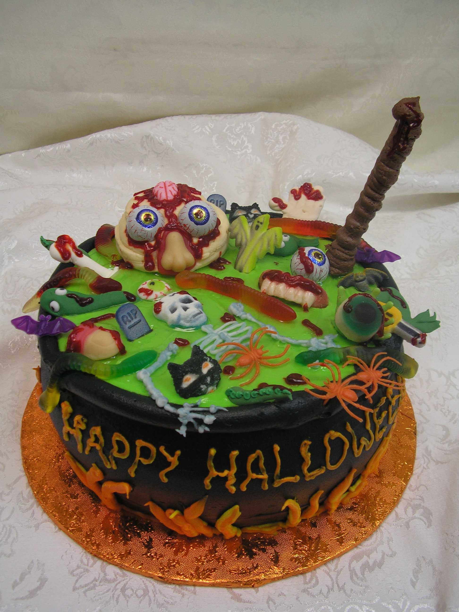 halloween cake, caldroun cake,