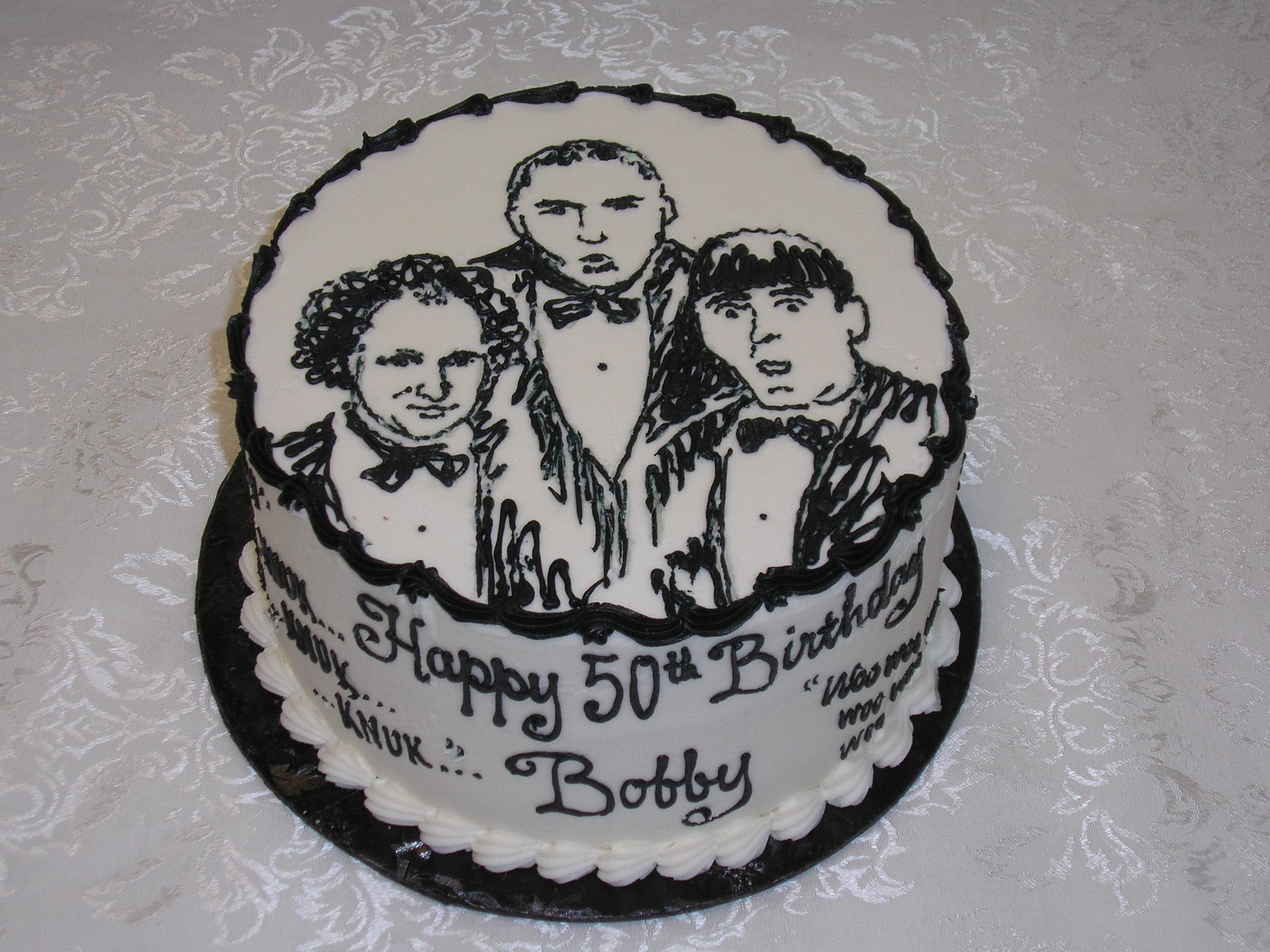 three stooges cake
